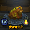 Коричнево-зелёная лягушка