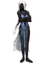 Drow lady8 stock by umrae thara-d57b3d0