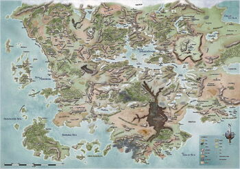 Faerun Map 1479DR