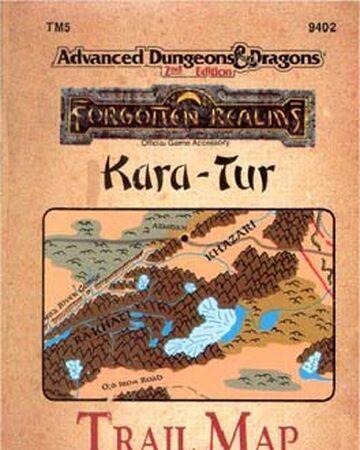 Kara-Tur Trail Map | Forgotten Realms Wiki | Fandom