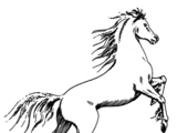 Moon-horse