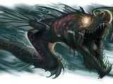 Shadow sea serpent