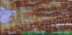 Blood & Magic game map