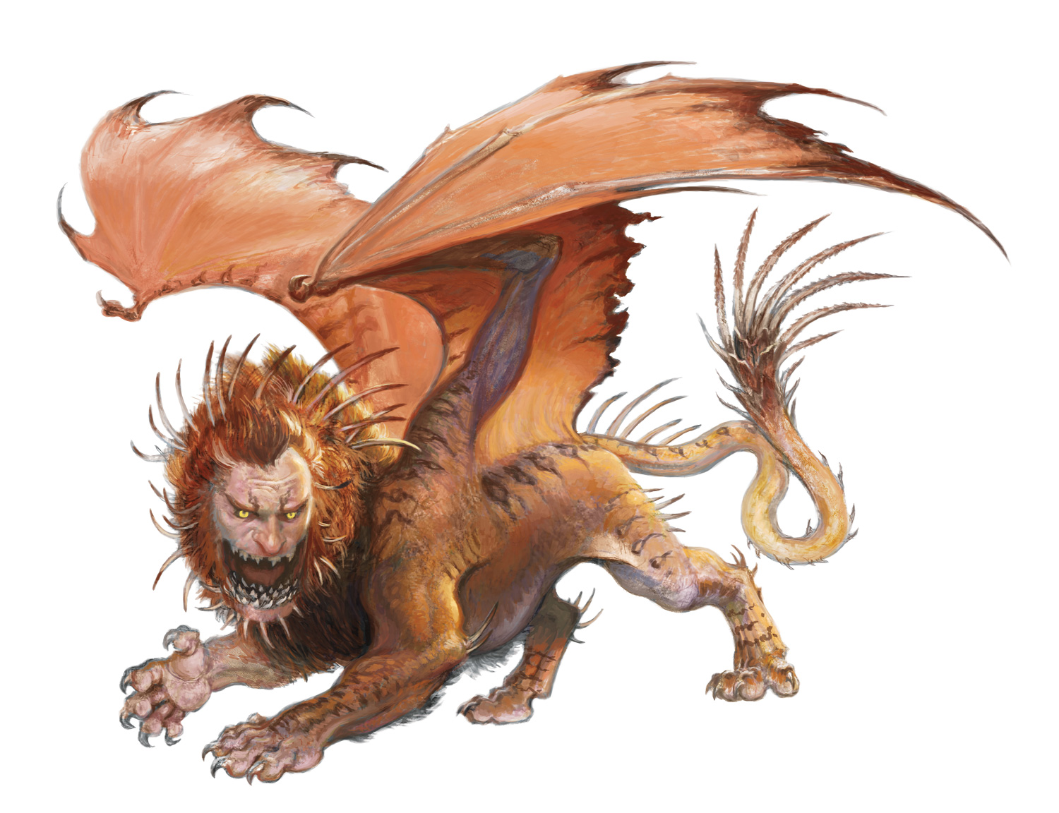 manticore forgotten realms wiki fandom powered by wikia rh forgottenrealms wikia com Skeleton Monster Manual Dungeons and Dragons Monster Manual