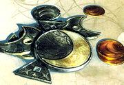 Silver copper coins 5e-SGAsG