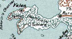 Tethyr peninsula