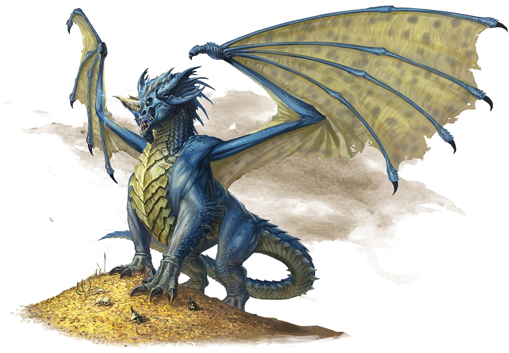 Blue dragon | Forgotten Realms Wiki | FANDOM powered by Wikia