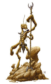 Thri Kreen Forgotten Realms Wiki Fandom Powered By Wikia