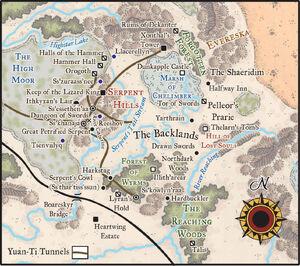 SerpentKingdoms Map-a-week Lazzaretti