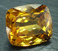 Garnet-faceted-yellow