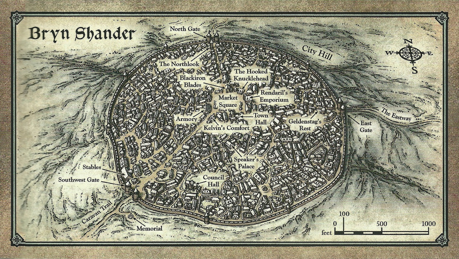 Bryn Shander Forgotten Realms Wiki Fandom Powered By Wikia