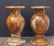 Onyx vases