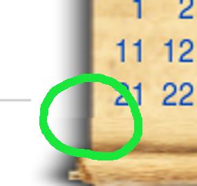 Scroll bug