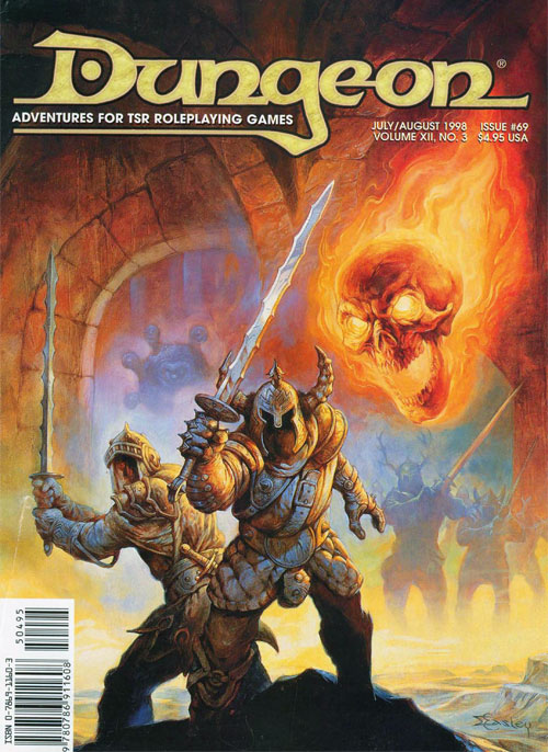 Image result for dungeon magazine