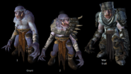 Neverwinter MMO - Creature - Ice Troll (Grunt 1-2 - War Troll)