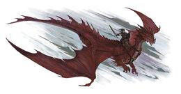 Githyanki dragon rider-4e