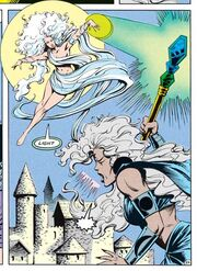 Selune v Shar DC Comics