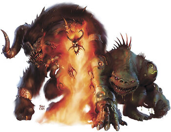 Blackjack Rants Reviewing D D Monsters 5e Monster Manual Demons Devils Greater demons are large demonic monsters. 5e monster manual demons devils