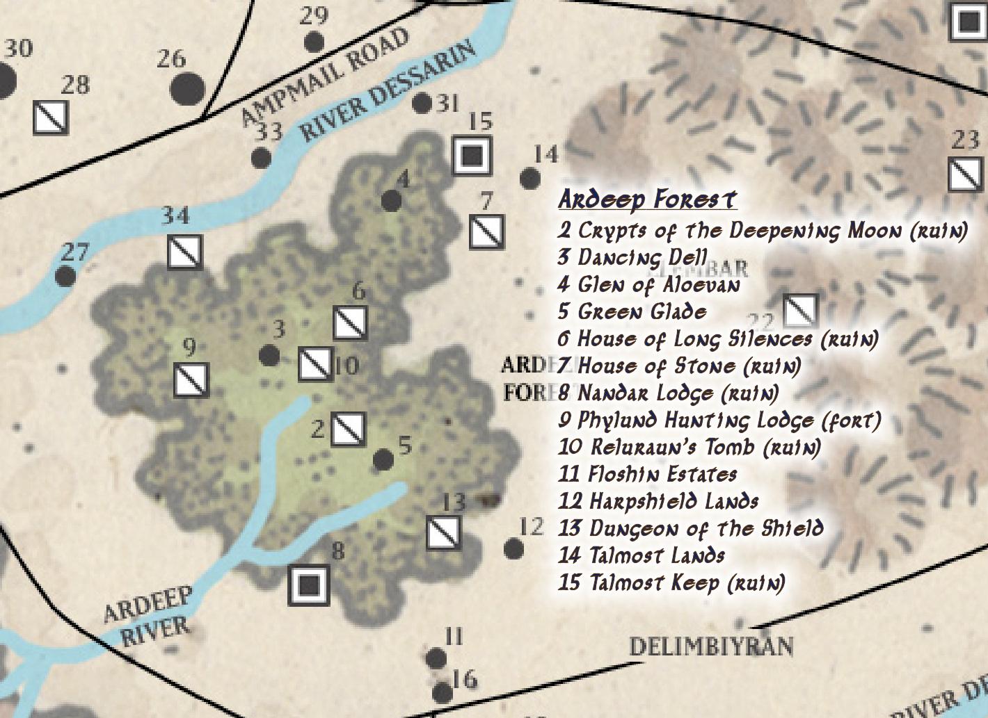 Ardeep Forest   Forgotten Realms Wiki   FANDOM powered by Wikia