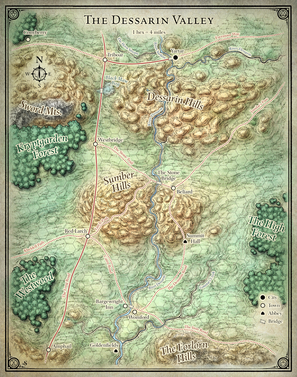 Dessarin Valley | Forgotten Realms Wiki | FANDOM powered by Wikia