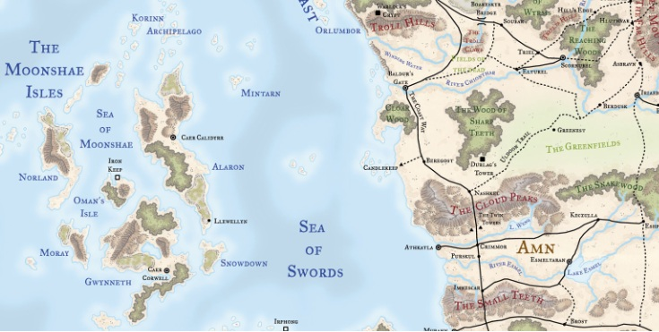 Image - Moonshea location.jpg | Forgotten Realms Wiki | FANDOM ...
