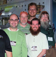 Realms authors at GenCon