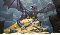 Young black dragon-5e