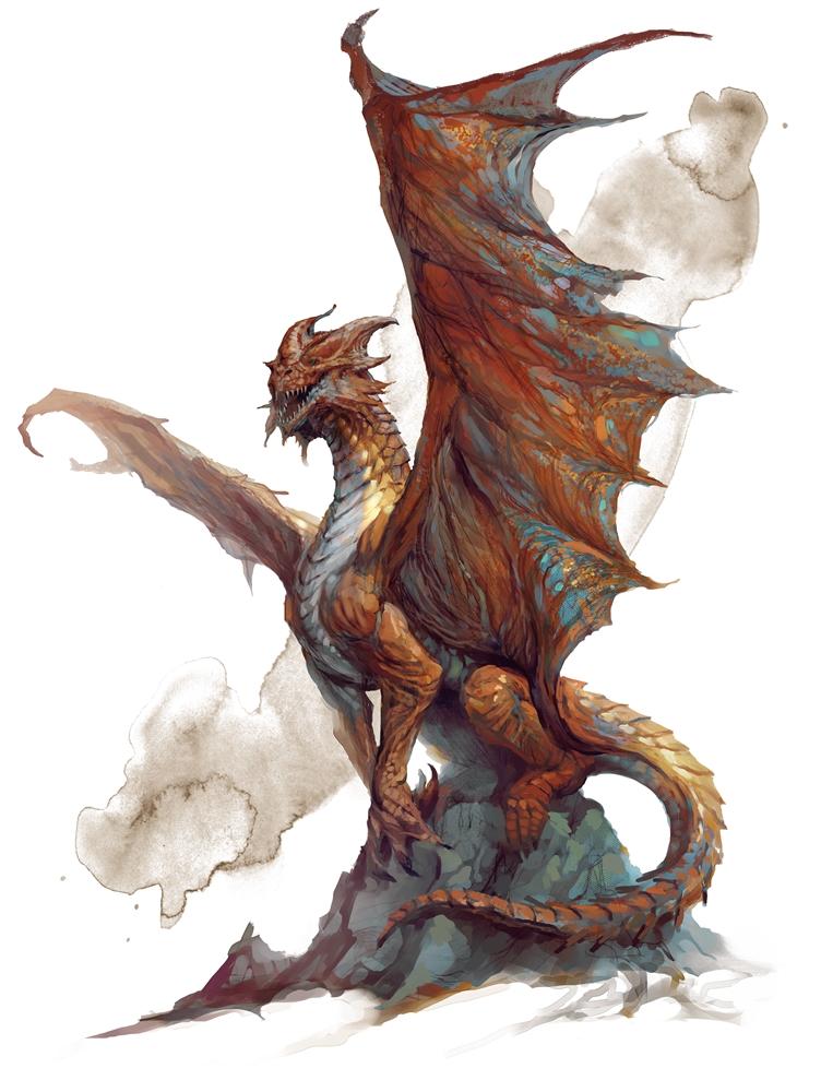 Copper dragon | Forgotten Realms Wiki | FANDOM powered by Wikia