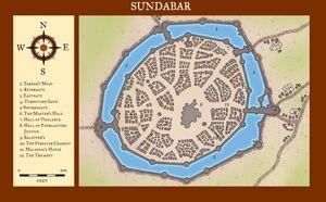 Sundabar map
