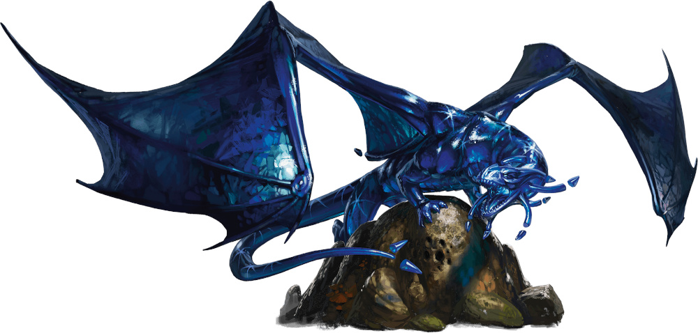 Sapphire dragon | Forgotten Realms Wiki | Fandom