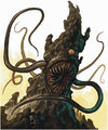 Monster Manual 4e - Roper - p222 - Warren mahy.jpg
