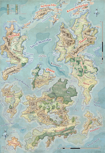 Moonshae Isles | Forgotten Realms Wiki | FANDOM powered by ...