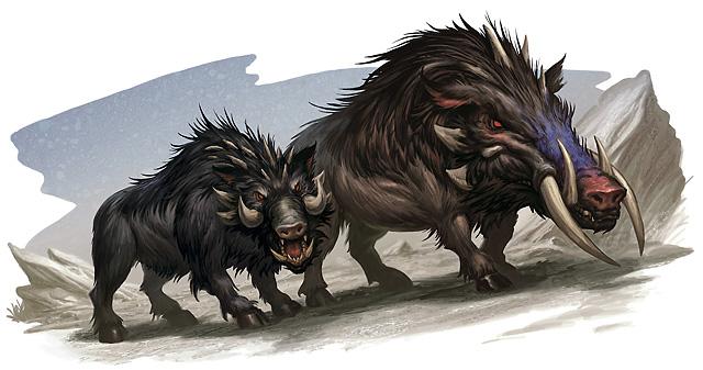Boar Forgotten Realms Wiki Fandom Powered By Wikia