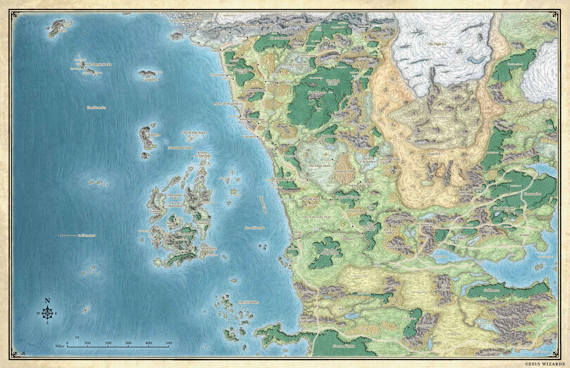 Sword Coast | Forgotten Realms Wiki | FANDOM powered by Wikia
