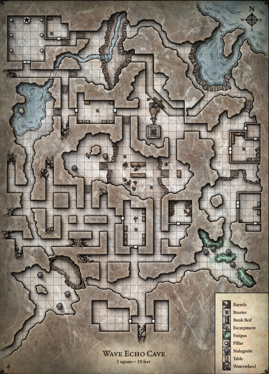 Wave Echo Cave Forgotten Realms Wiki Fandom