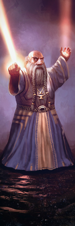 Shielding cleric - Layne Johnson
