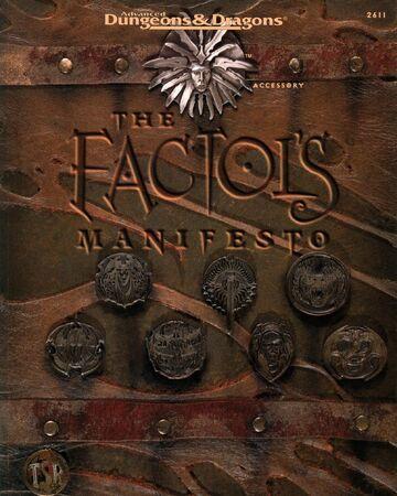 The Factol's Manifesto | Forgotten Realms Wiki | Fandom