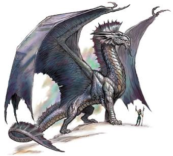 Image result for d&d 3.5 silver dragon