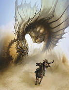 Brown dragon 4e