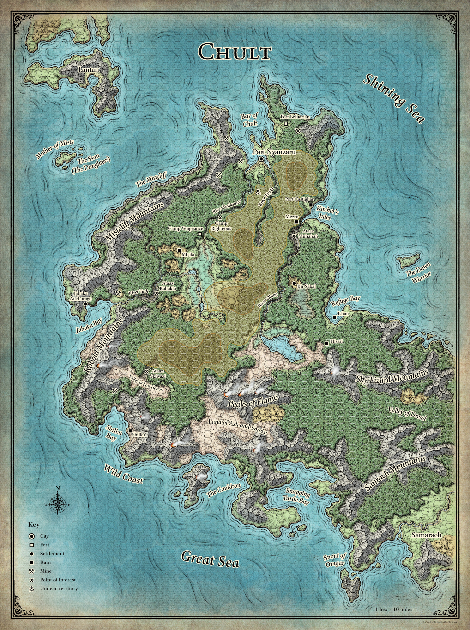 Chult forgotten realms wiki fandom powered by wikia gallery gumiabroncs Image collections