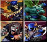 Basal golems - zombie, gargoyle, ghoul, wraith
