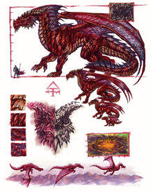 Red dragon anatomy - Ron Spencer