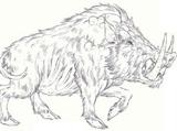 Dire boar
