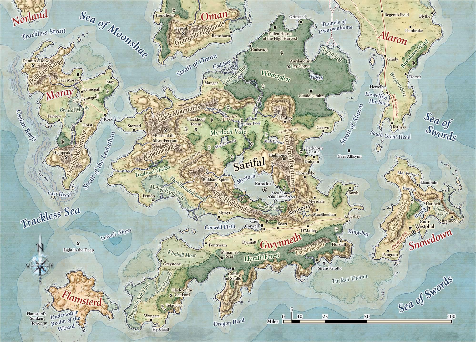 Image - Southern Moonshea Islands.jpg | Forgotten Realms ...