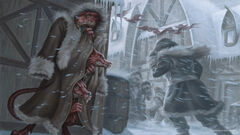 Three kobolds in a trenchcoat
