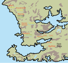 Elven Realms before the Crown Wars