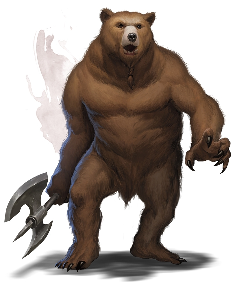 Werebear Forgotten Realms Wiki Fandom Powered By Wikia