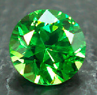 Garnet-faceted-green