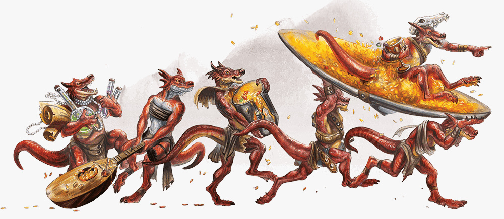 Monsters and Heroes of the Realms | Dungeons & Dragons | 435x1000