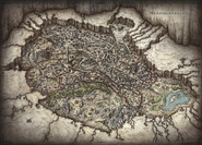 Menzoberranzan map - City of Intrigue